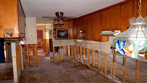 Home Repair - Kitchen Before